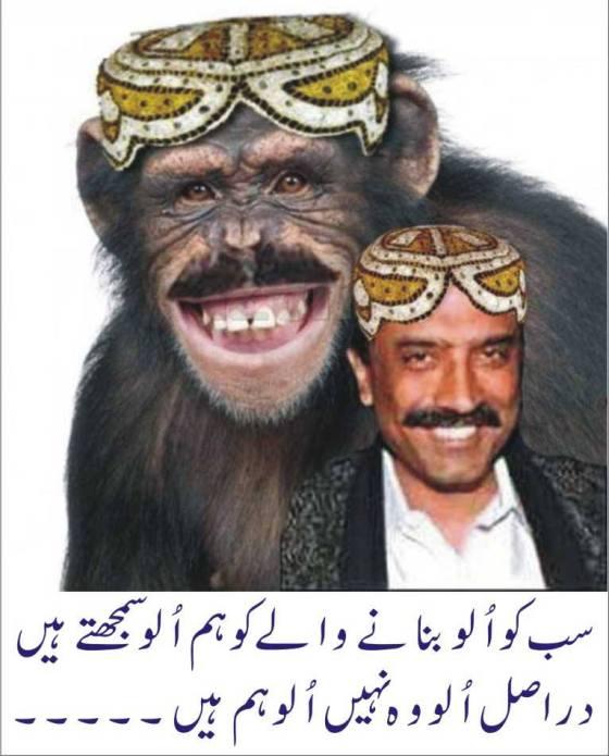 Wid_PK_U_Zardari is a Monkey